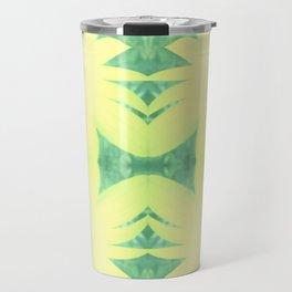 Yellow Coreopsis Flower Travel Mug