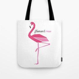 Flamant rose Tote Bag