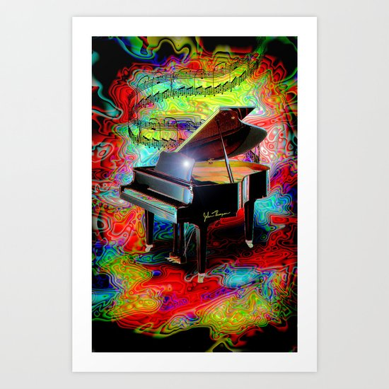 Psychedelic Baby Grand Art Print