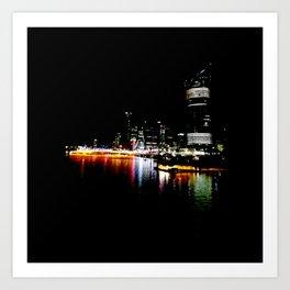 Brisbane River Print Art Print