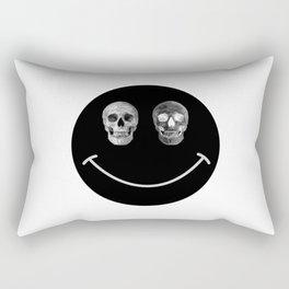 Just keep smiling Rectangular Pillow