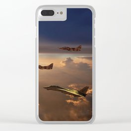 The Flight Home Clear iPhone Case