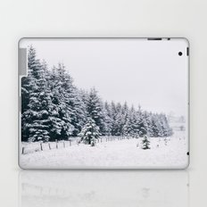 Trees covered in heavy snow. Matterdale End, Cumbria, UK. Laptop & iPad Skin