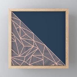 B Rays Geo 1 Framed Mini Art Print