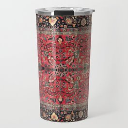 Antique Persian Red Rug Travel Mug