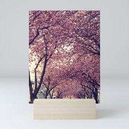 sakura four Mini Art Print