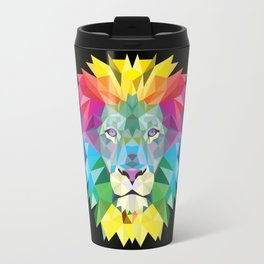 High Color Lion  Travel Mug