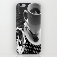 cafe iPhone & iPod Skins featuring cafe by Emily Baker Photography and Design