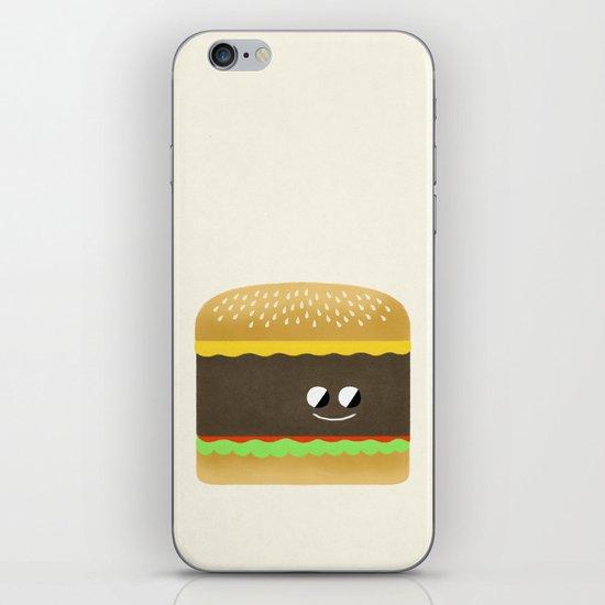 Cheesy Burger iPhone & iPod Skin