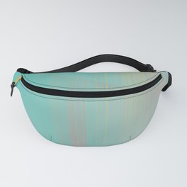 Miami Reflections - Turquoise & Pink Abstract Fanny Pack