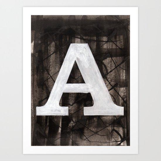 -A- Art Print