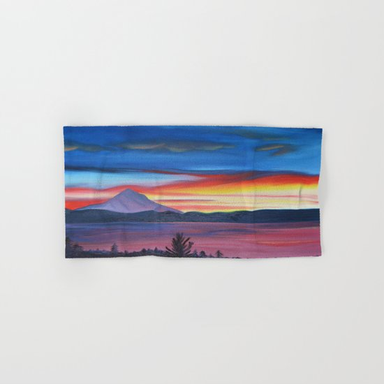 Our Side of The Mountain - Pacific Northwest Mountain Series Hand & Bath Towel