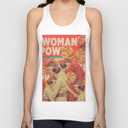 Woman Power Unisex Tank Top