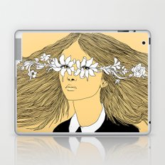 Flowers in My Eyes (Life in a Glimpse) Laptop & iPad Skin