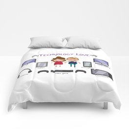 Technology Love Comforters