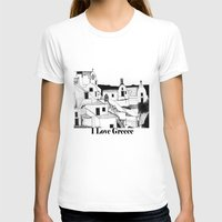 greek T-shirts featuring Greek Island by KostasK