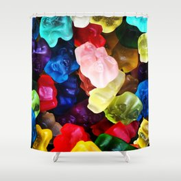 Yummy Gummy Shower Curtain