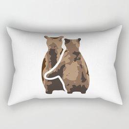 BEAR COUPLE Rectangular Pillow