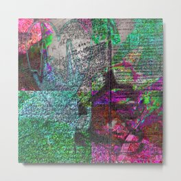 I Don't Know About This ver. 090616 Metal Print