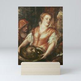 Titian - Salome with the Head of John the Baptist Mini Art Print