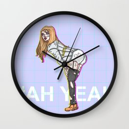 #AHYEAH Wall Clock