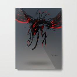 Red Clan Sweeper Metal Print