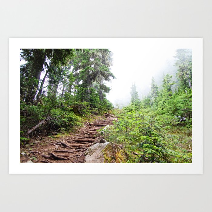 Trail to the Sky Art Print