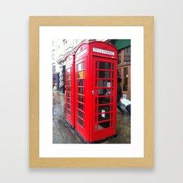 Ring me Framed Art Print