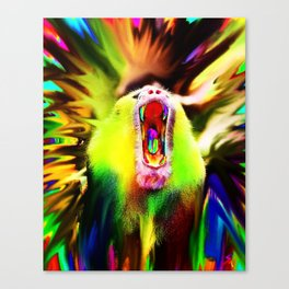 Unleash your inner beast Canvas Print