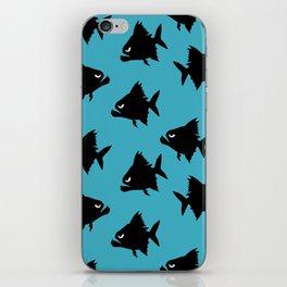 Angry Animals - Piranha iPhone Skin