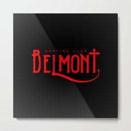 Belmont Hunting Clan I Metal Print