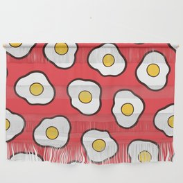 Fried Eggs Pattern Wall Hanging