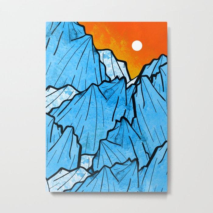 Rocky Peaks Metal Print