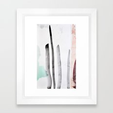 MINIMAL Framed Art Print