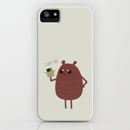 Wildlife, bears and squirrels iPhone Case