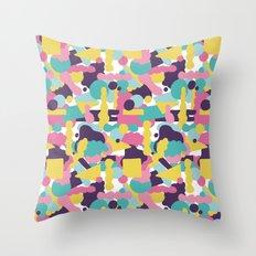 Pattern Imaginary Garden Throw Pillow
