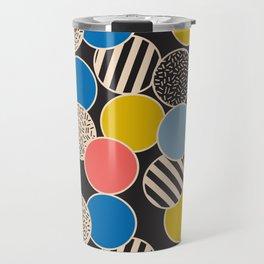 Memphis Inspired Pattern 6 Travel Mug