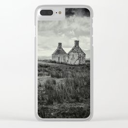 The Abandoned House II Clear iPhone Case