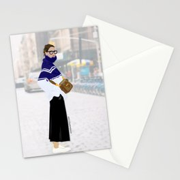 Jenna - Streetstyle Fan Art Stationery Cards