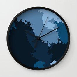 Camo 23 Wall Clock