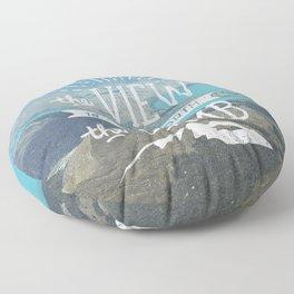 WORTH THE CLIMB Floor Pillow