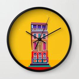 Manarola House, Cinque Terre, Italy Wall Clock