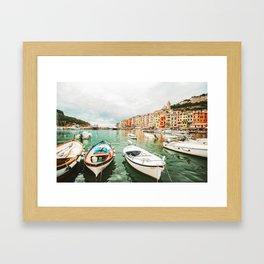 Coastal Italy Framed Art Print