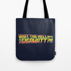 One Point Twenty One Tote Bag