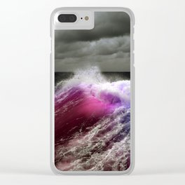 Alive ocean Clear iPhone Case