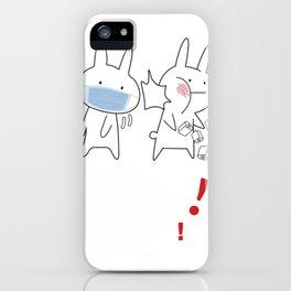 Anime Baka Rabbit Slap Japanes iPhone Case