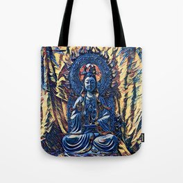 Glass temple of Marcy  Tote Bag