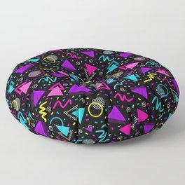 Neon Retro Sprinkle  Floor Pillow