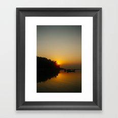 Sunset, Koh Phangan 03 Framed Art Print