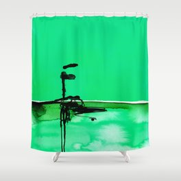Introspection No. 20E by Kathy Morton Stanion Shower Curtain